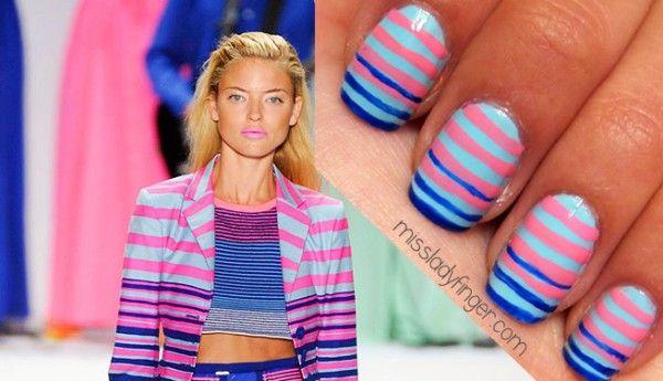 Designer-inspired nail-art
