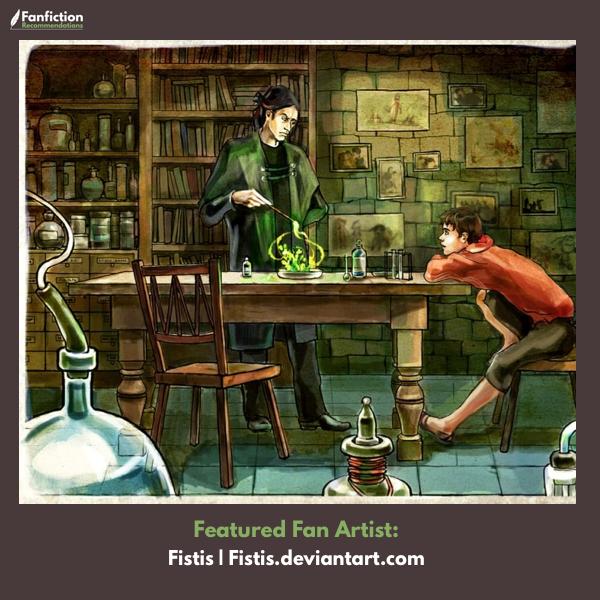 13 Pieces of Harry Potter Fan Art that Fanfiction Readers