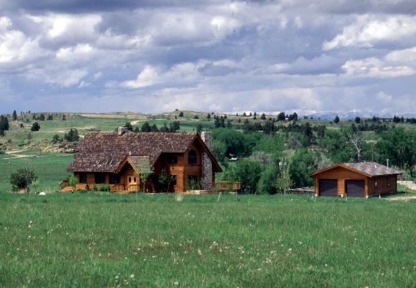 Ryegate, MT (#5921)   Real Log Homes since 1963   Custom Log Homes   Log Home Floor Plans   Log Cabin Kits