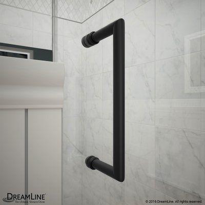 Dreamline Unidoor Lux 72 X 60 Hinged Frameless Shower Door With