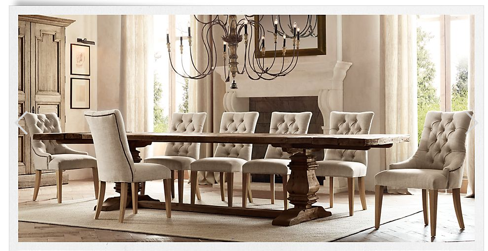 Gorgeous Pedestal Table Different Chairs Though The Upholstery Does Not Match Shape Of