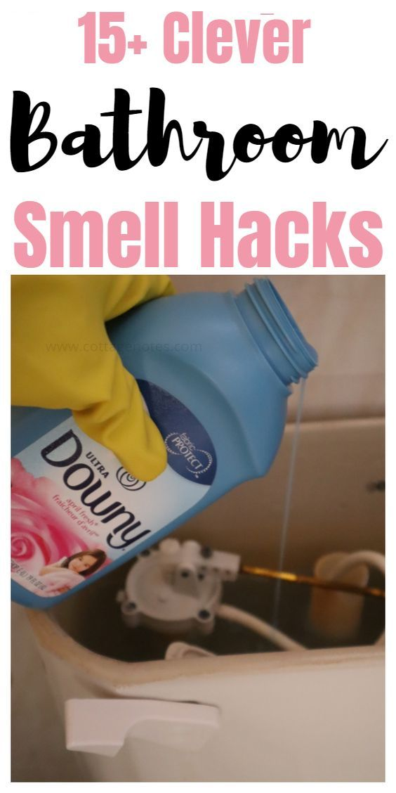 15 Incredible And Easy Bathroom Smell Hacks And Tips Consejos