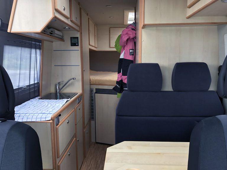 Unser Wohnmobil Alle Details zu Konfiguration