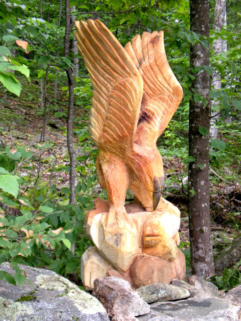 Pin chainsaw carvings on pinterest