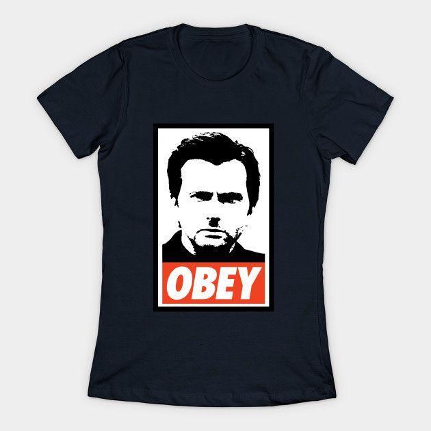 Kilgrace Obey (jessica Jones) Womens T-Shirt