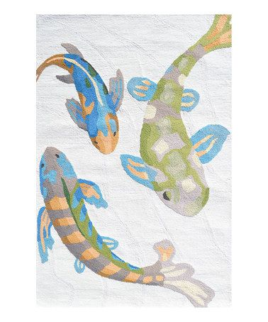 Take A Look At This Koi Indoor Outdoor Rug By The Rug