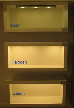 Best under cabinet lighting led xenon halogen fluorescent led vs fluorescent vs xenon vs halogen under cabinet lighting options are explored and compared the key is mozeypictures Gallery