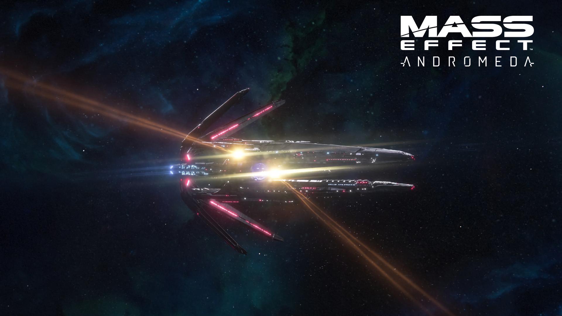 Videogame Mass Effect Andromeda Mass Effect Hd Wallpaper