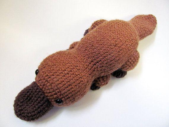 Easy Amigurumi Pdf : Crochet pattern pdf amigurumi platypus cute crochet amigurumi