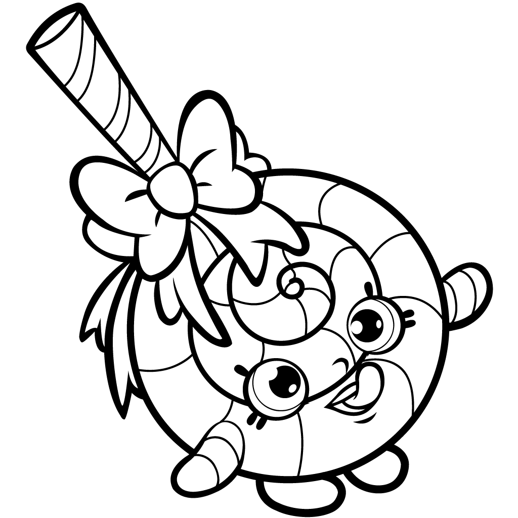 It is a picture of Superb Printable Shopkins Coloring Pages