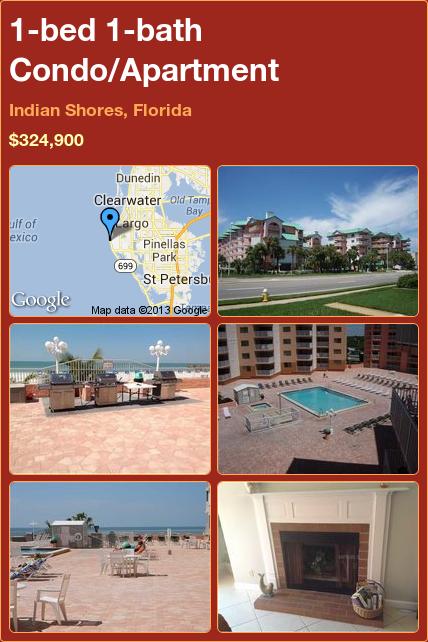 1-bed 1-bath Condo/Apartment in Indian Shores, Florida ►$324,900 #PropertyForSale #RealEstate #Florida http://florida-magic.com/properties/7018-condo-apartment-for-sale-in-indian-shores-florida-with-1-bedroom-1-bathroom