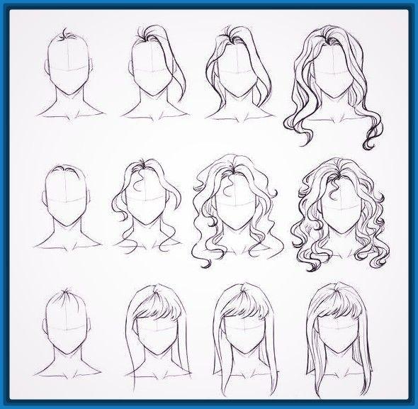 Resultado De Imagen Para Dibujos A Lapiz Faciles Dibujo Haare