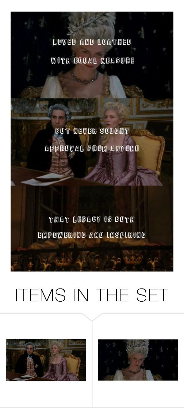 """""""Marie Antoinette has been..."""" by lucyhalliday ❤ liked on Polyvore featuring art"""