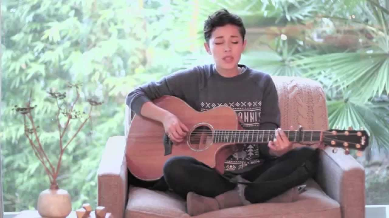 That's Christmas To Me Pentatonix (Cover by Kina Grannis