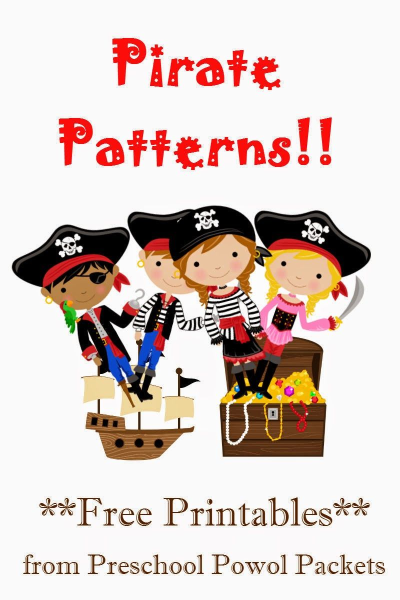 Free Pirate Patterns Preschool Packet Pirate Preschool Preschool Pirate Theme Pirate Activities [ 1200 x 800 Pixel ]