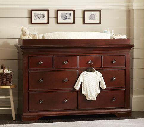 Storage Furniture   Larkin Extra Wide Dresser U0026 Changing Table | Pottery  Barn Kids