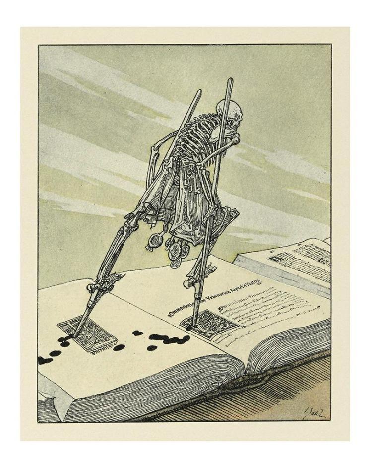Ein Moderner Totentanz: In 16 Bildern, Joseph Sattler, 1912 | Art ... Fotos Von Modernen Bdern