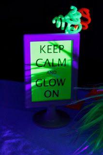 neon party idea