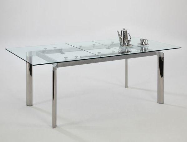 Glastisch Fur Die Einrichtung Ihres Esszimmers Pro Und Contra Extendable Dining Table Dining Table In Kitchen Glass Dining Table