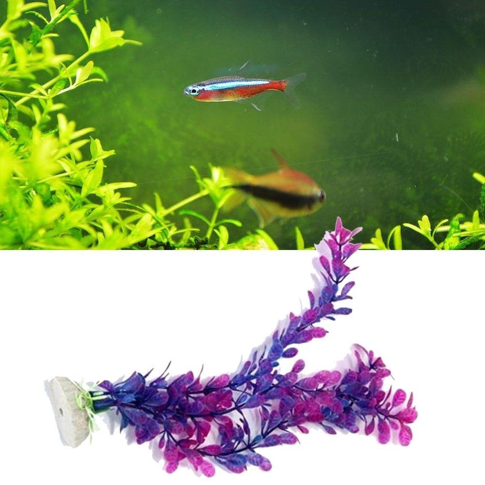 gbp plastic artificial plant water grass for aquarium fish