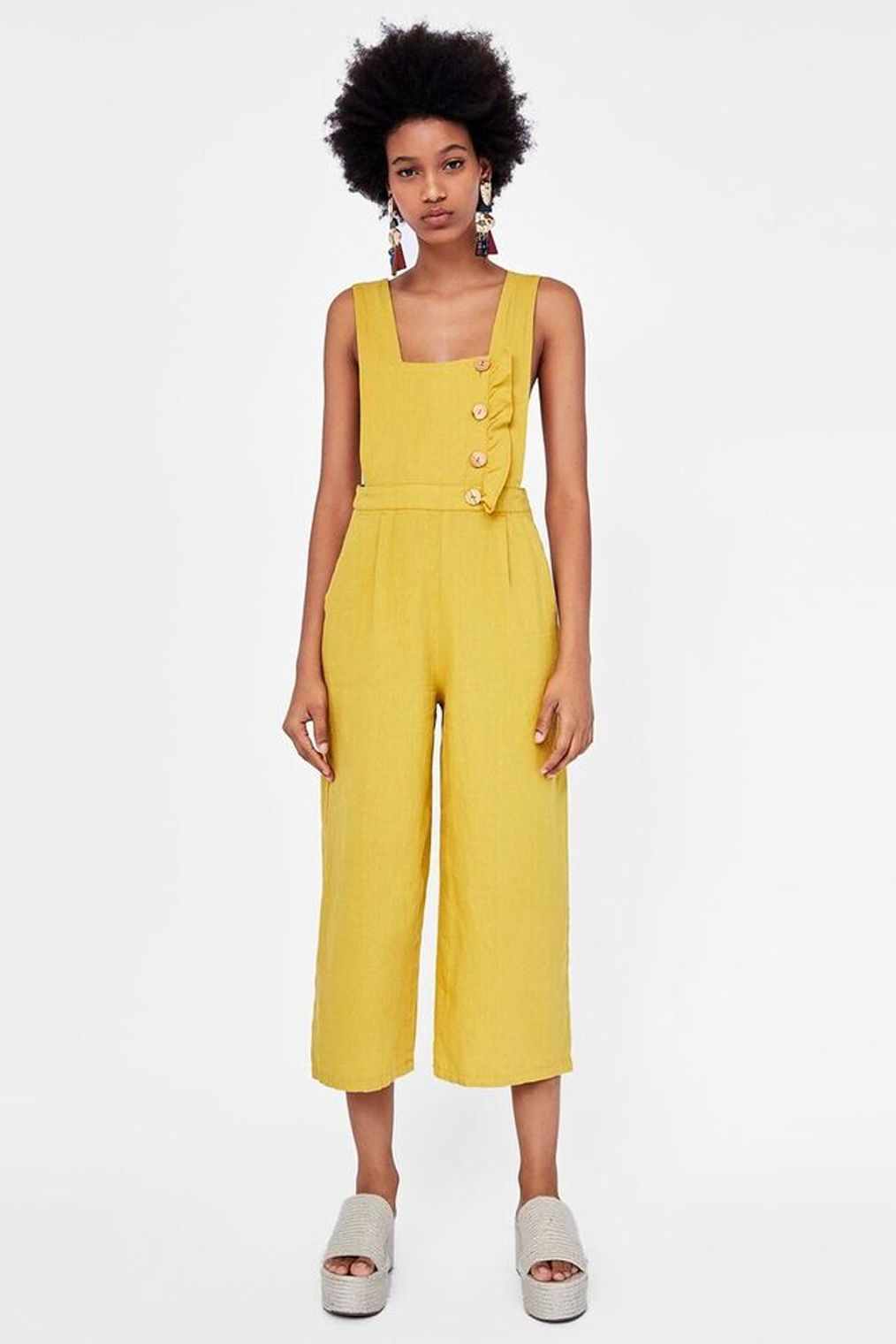 70165995b9 The Pool - Fashion - The best overalls – and what to wear them with Zara  yellow dungarees
