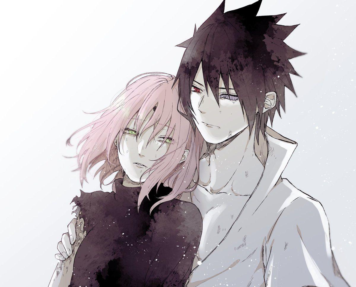 Gambar Ditemukan Oleh Seseorang Temukan Dan Simpan Gambar Dan Videomu Di We Heart It In 2020 Sasusaku Sakura And Sasuke Anime Naruto