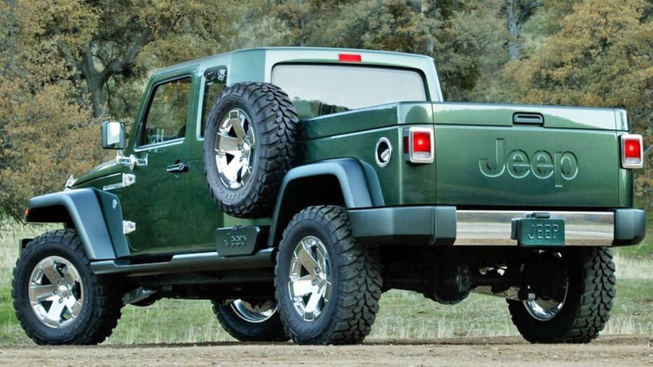 Report A Jeep Wrangler Pickup Is In The Works Wrangler Pickup