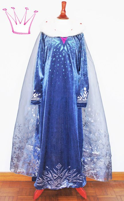 Prinzessin Frozen Elsa Kinder-Kostüm, Frozen