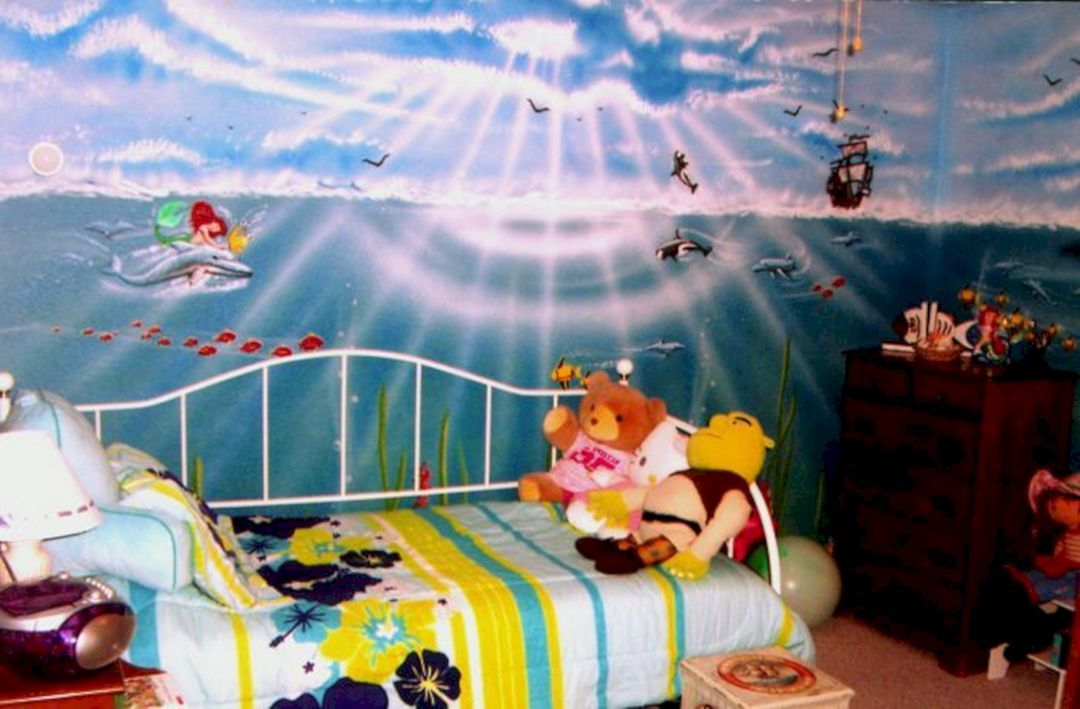 66 Incredible Little Mermaid Bedroom Design Ideas