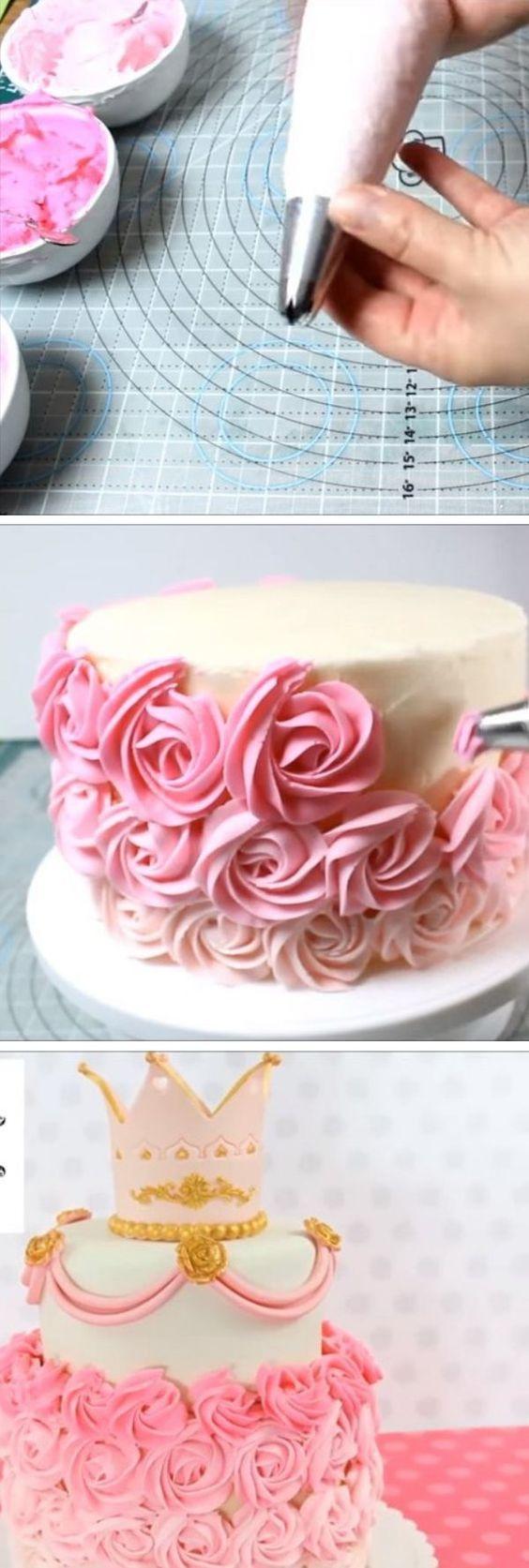 Cómo hacer rosas de crema desde cero