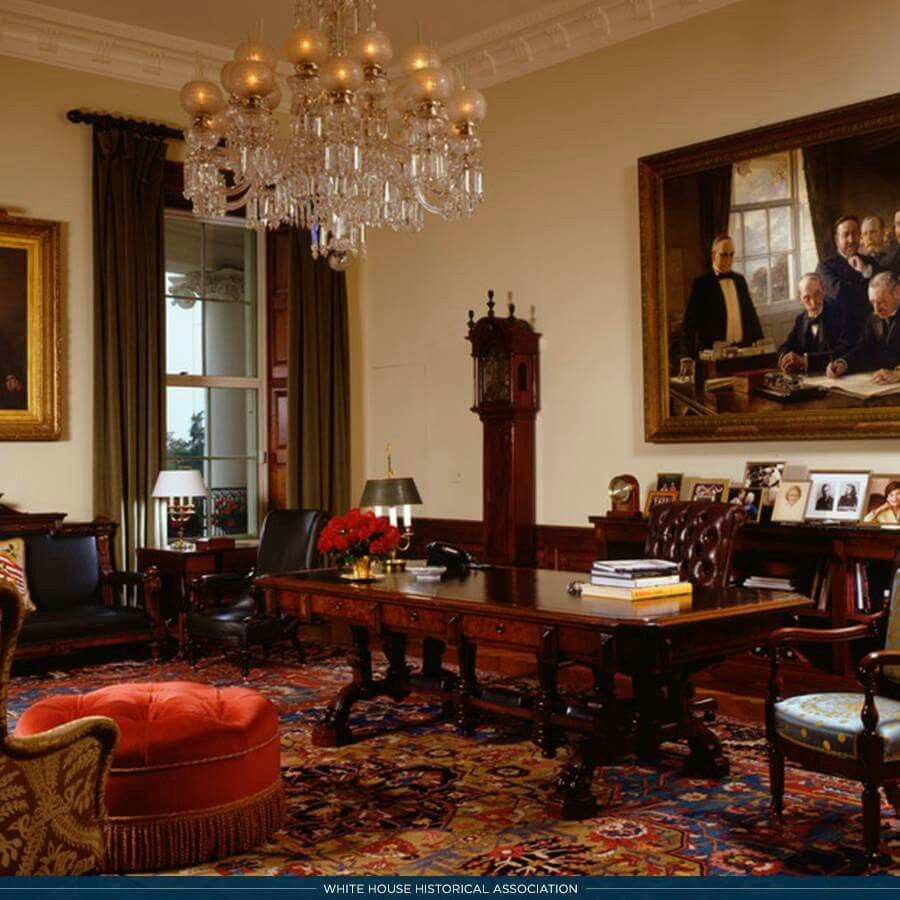 the treaty room in the white house  white house interior