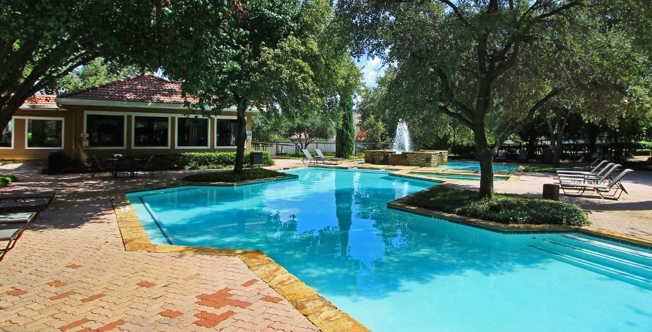 Resort Style Pool At Marabella At Las Colinas Apartments  Irving, TX