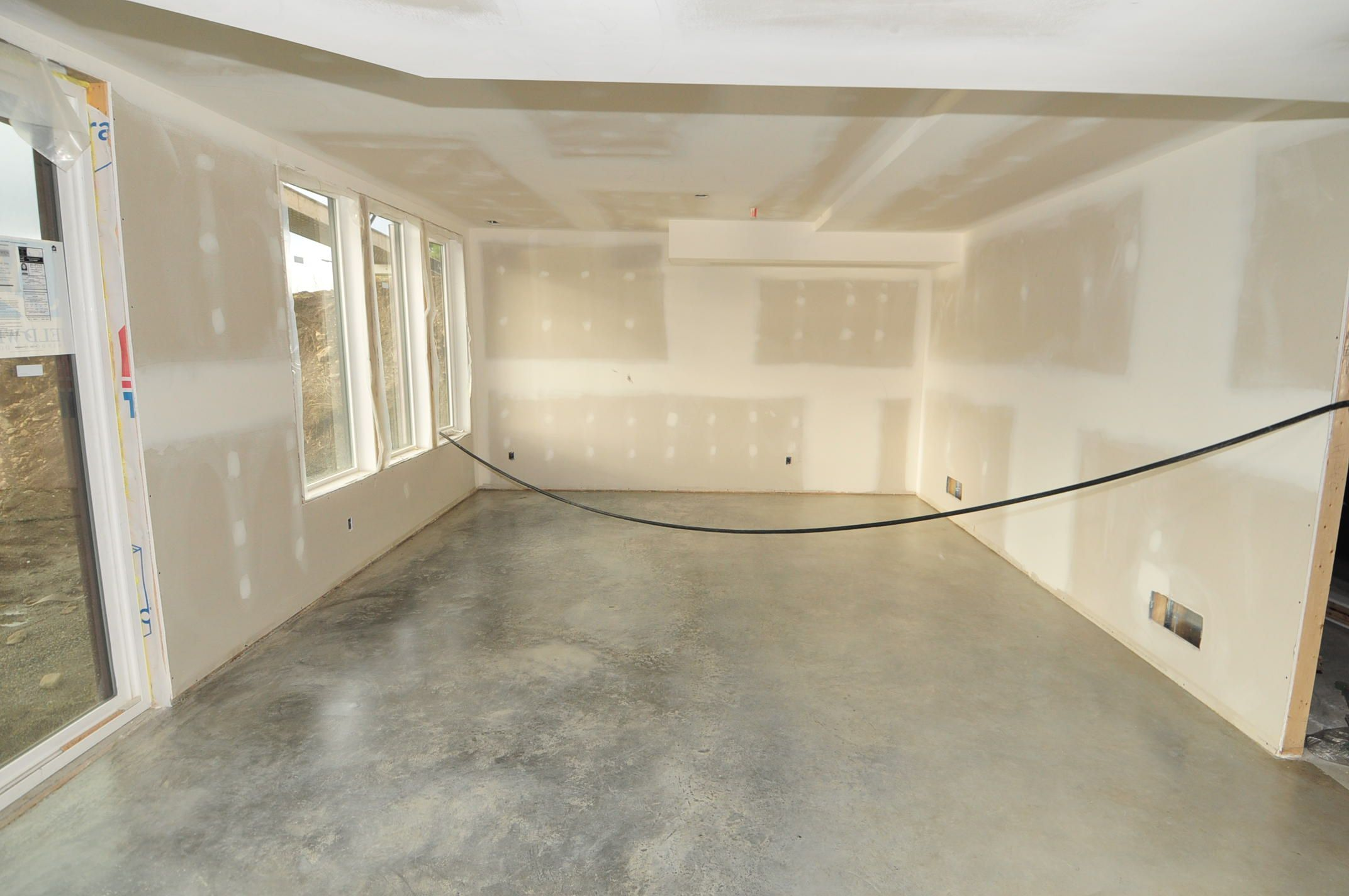 Sealed Cement Floor No Stain Google Search Concrete Kitchen