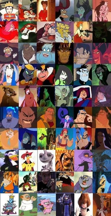 disney villains | Tumblr Wow there are many of them now that