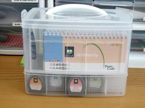 101 Ways To S Cricut Cartridge Handbook Storage