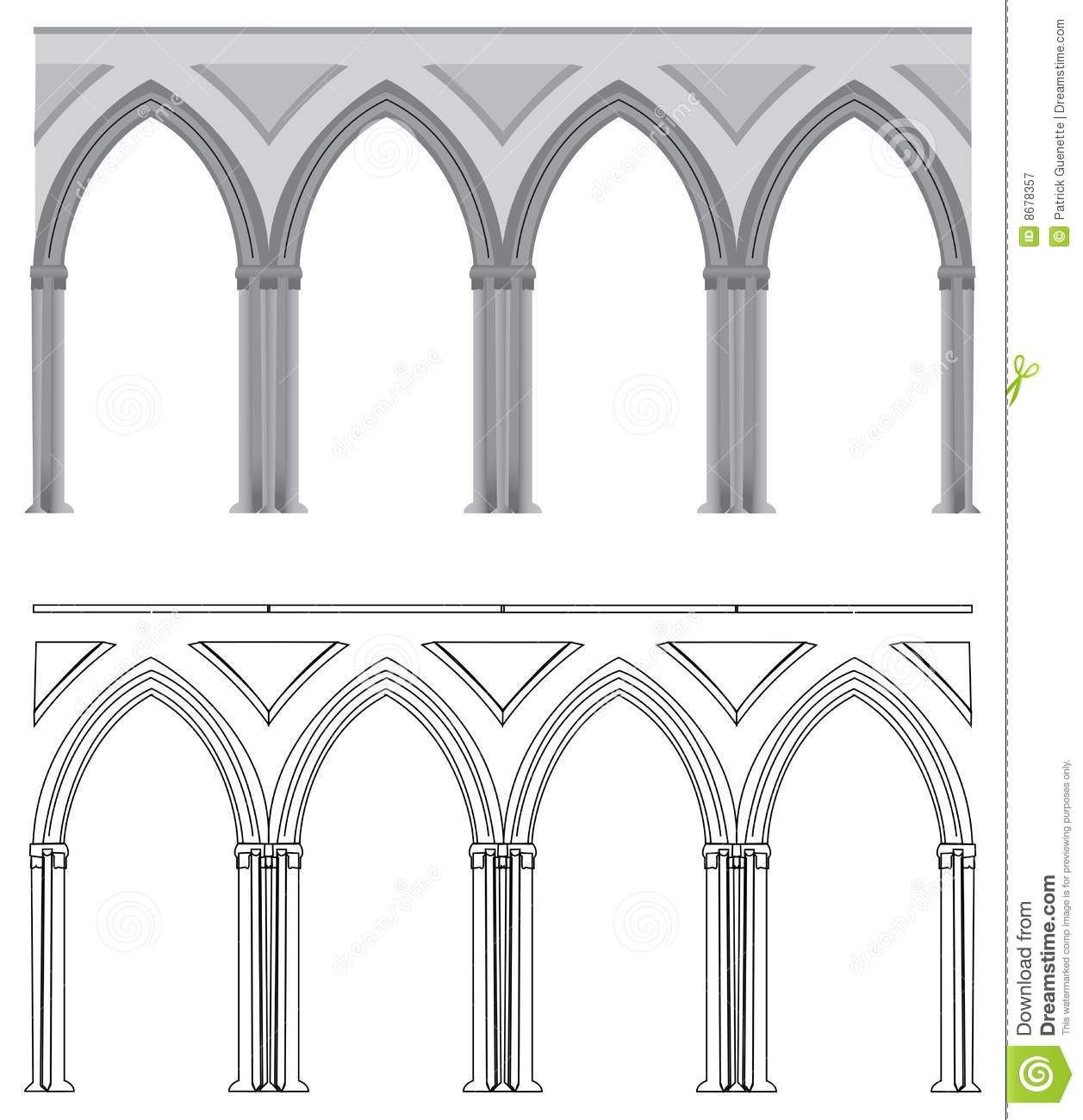 Gothic Arch And Column Download From Over 65 Million High Quality Stock Photos Images Vectors Sign Up For Free Today Image Arch Ancient Buildings Gothic