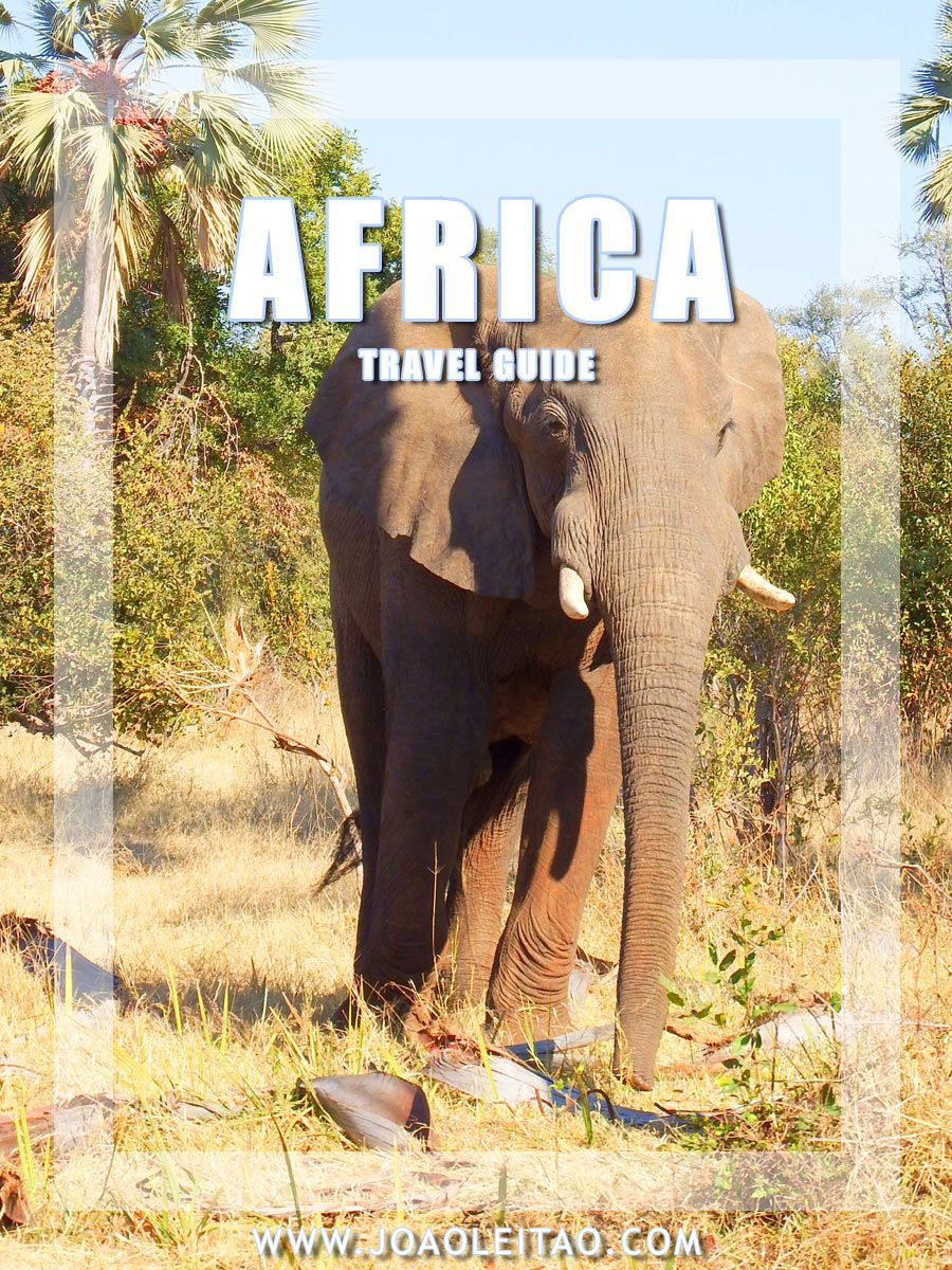 Africa Travel Guide with best destinations, photos, transportation, accommodation, restaurants, travel tips and information, itineraries and maps.