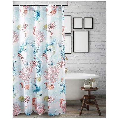 Greenland Home Fashions Sarasota Shower Curtain Bath In Multi Gl