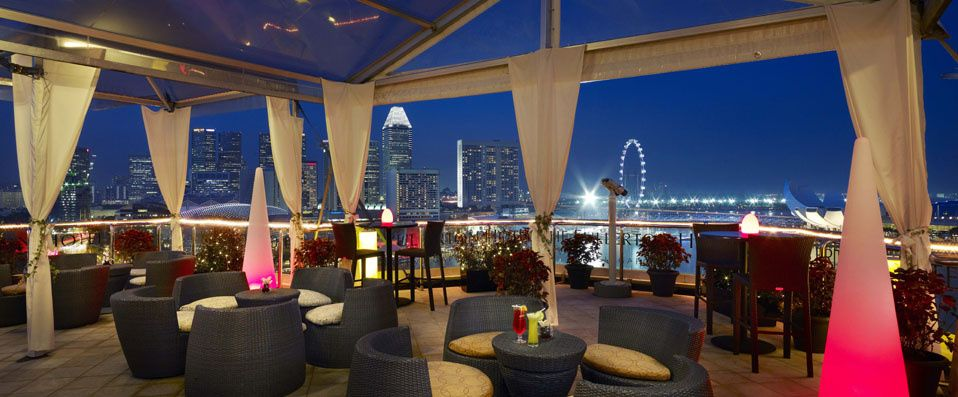 The Lighthouse Rooftop Bar The Fullerton Hotel Singapore Fullerton Hotel Singapore House Hotel