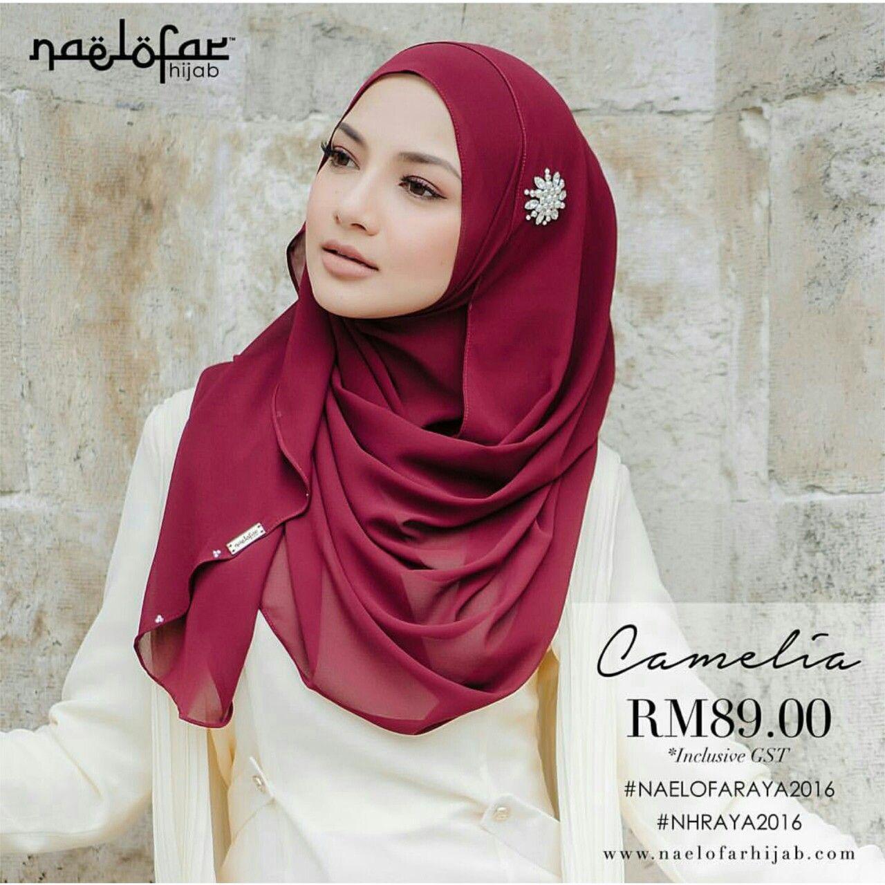 Camelia By Naelofar Hijab Naelofar Hijab Pinterest Hijabs