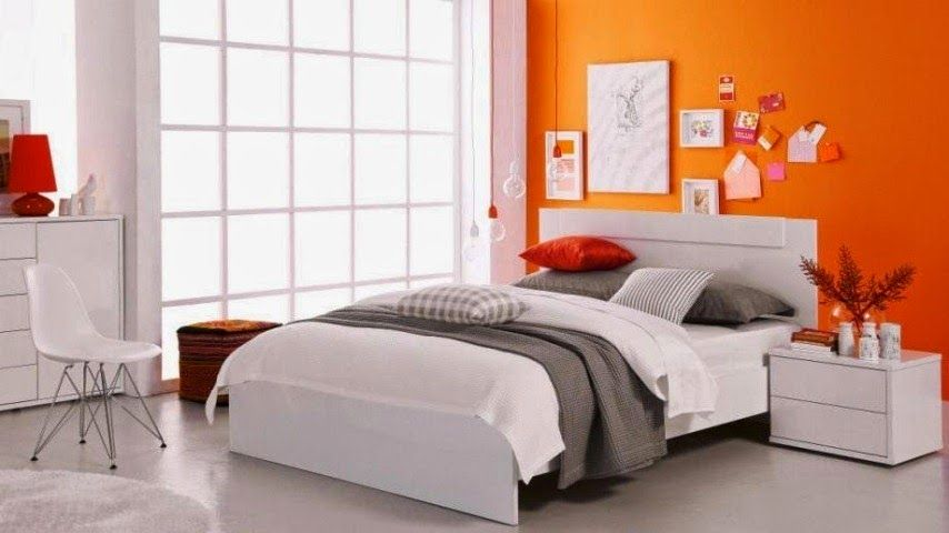 68 awesome ideas orange accents in bedrooms 68 awesome ideas orange accents in bedrooms with grey white orange wall bed pillow blanket and