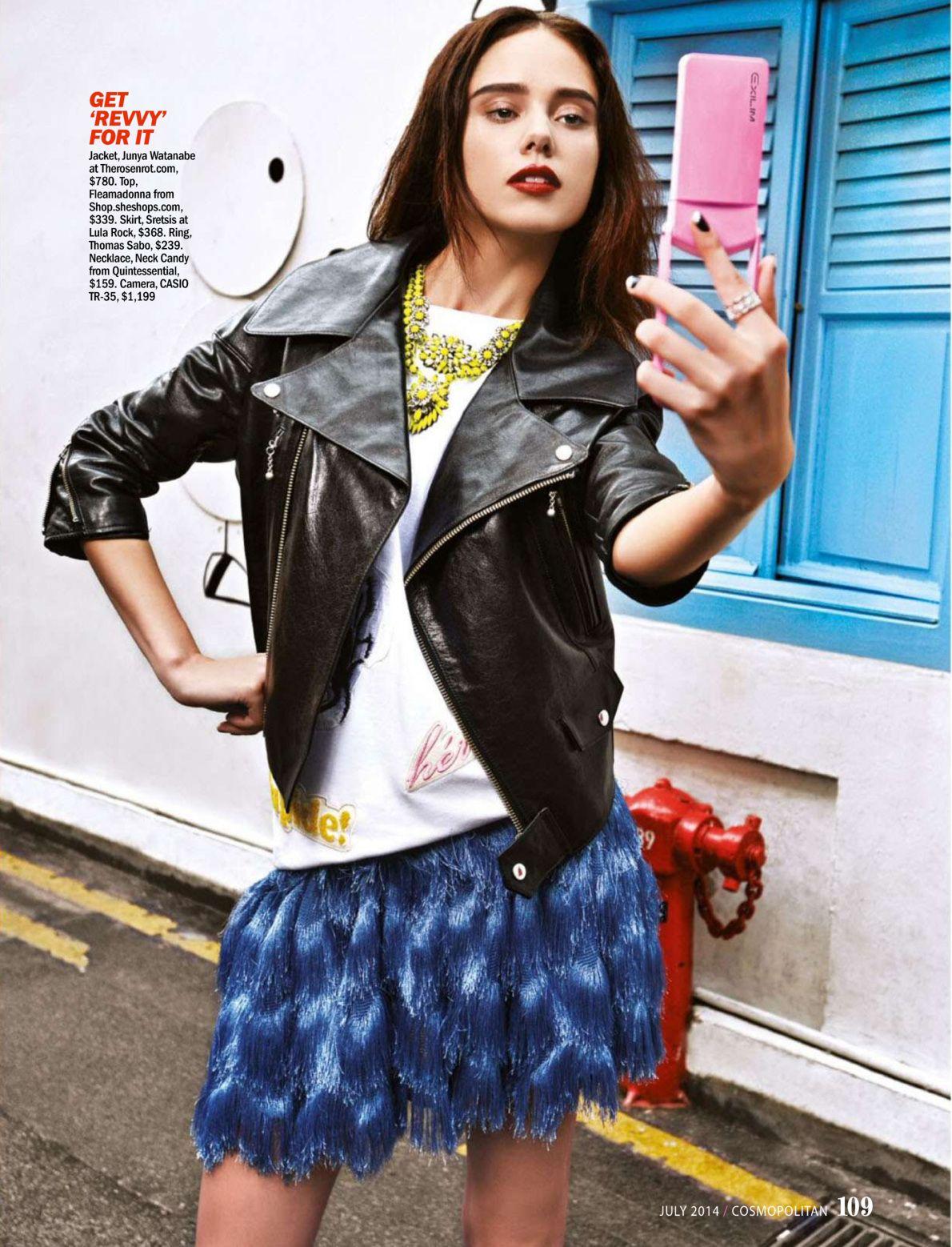 """Shoot To Thrill"" - Cosmopolitan Singapore July 2014"