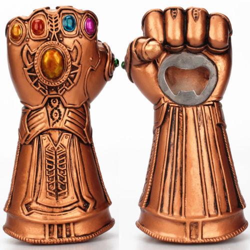 Multipurpose Infinity Thanos Gauntlet Glove Drink Bottle Opener Leloye