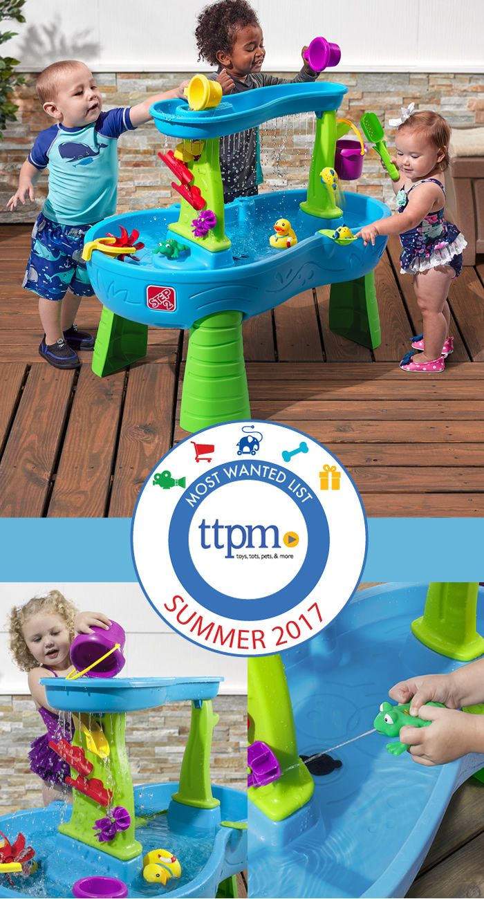 Rain Showers Splash Pond Water Table Selected as Most Wanted Summer ...
