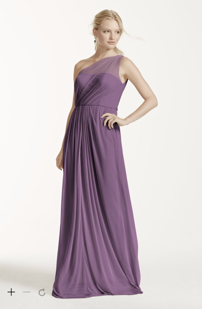 5d67bc3585772 David s bridal - Wisteria. David s bridal - Wisteria Long Bridesmaid Dresses  ...