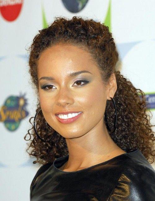 Alicia Keys Natural Hair 2013