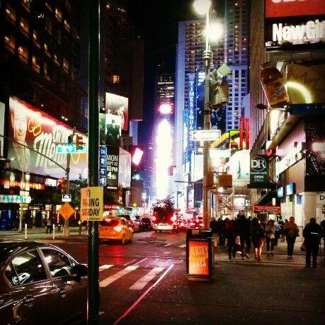 Broadway st NYC