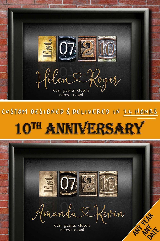 10th anniversary gift ideas ten years wedding anniversary