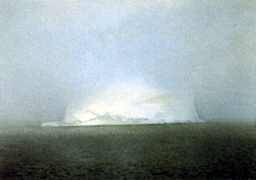 Gerhard Richter - Iceberg in Mist, 1982.