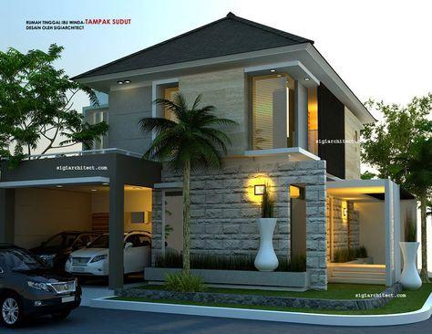 model rumah hook 2 lantai-3 | dekorasi minimalis, desain